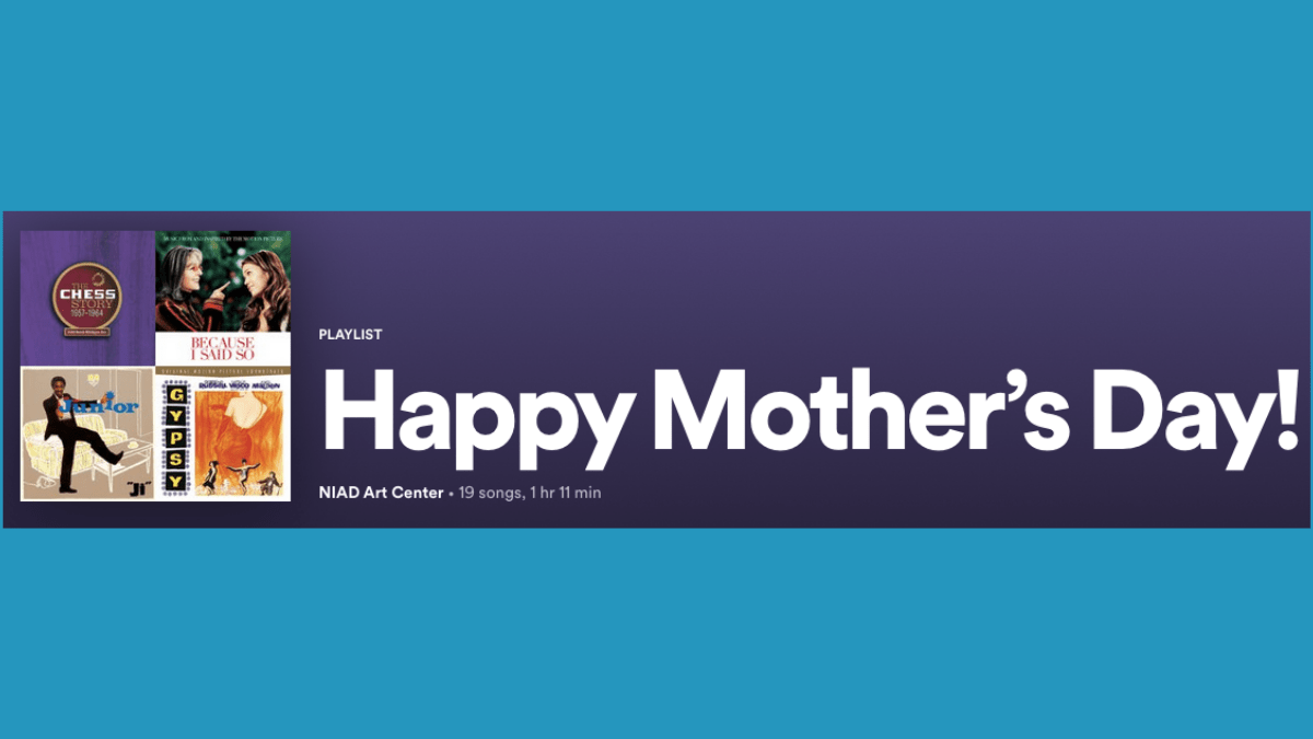 Header of Jean's Mother's Day Spotify Playlist