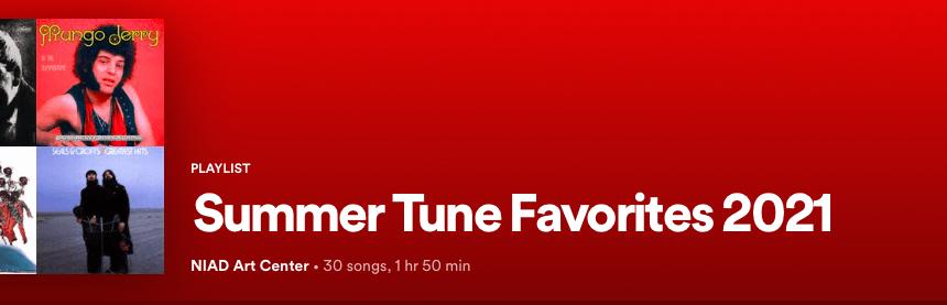 Summer Tune Favorite 2021 Spotify Playlist by Jean McElvane